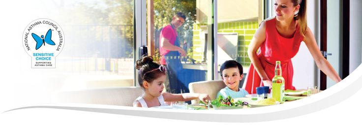 If you or someone in your family suffers from asthma or allergies and you are building a home, extending or planning a renovation, Gyprock® Sensitive is an ideal solution for your internal walls and ceilings. Gyprock Sensitive is approved by the National Asthma Council Australia's Sensitive Choice® program as a better plasterboard choice for asthma and allergy sufferers.