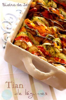 Tian de légumes de Provence. Huuumm ça sent bon l'été!