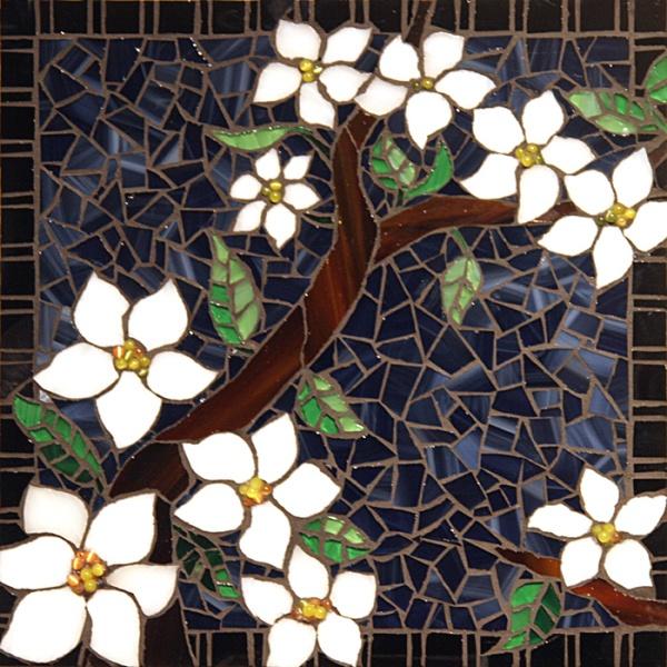 Dogwood Mosaic - by Maria Abagis