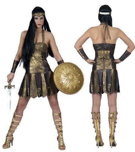 GLADIATORIN ACHILLA RÖMERIN Amazone Kostüm 32 34 Das Kostümland http://www.amazon.de/dp/B0075LLQIW/ref=cm_sw_r_pi_dp_RD7Twb1DP3PGF