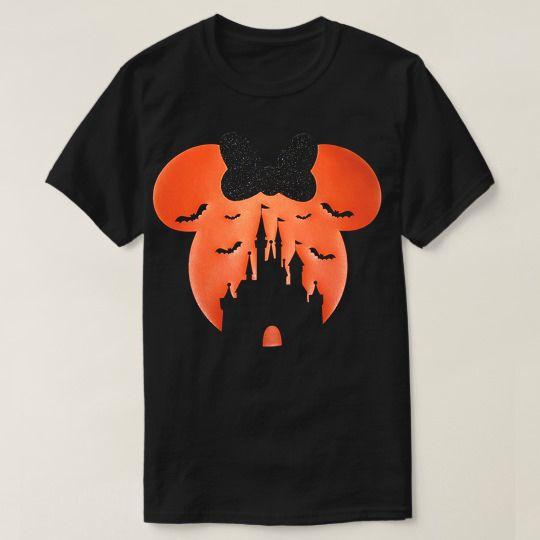Disney Castle Halloween Custom Shirts