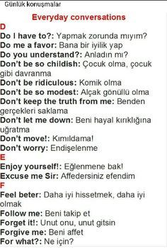 Turkish language.