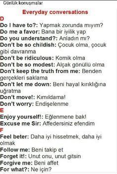 Turkish language.