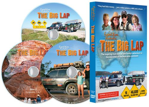 TAWKer Supporter - Expedition Australia with their set of DVD's showing their experiences on The Big Lap