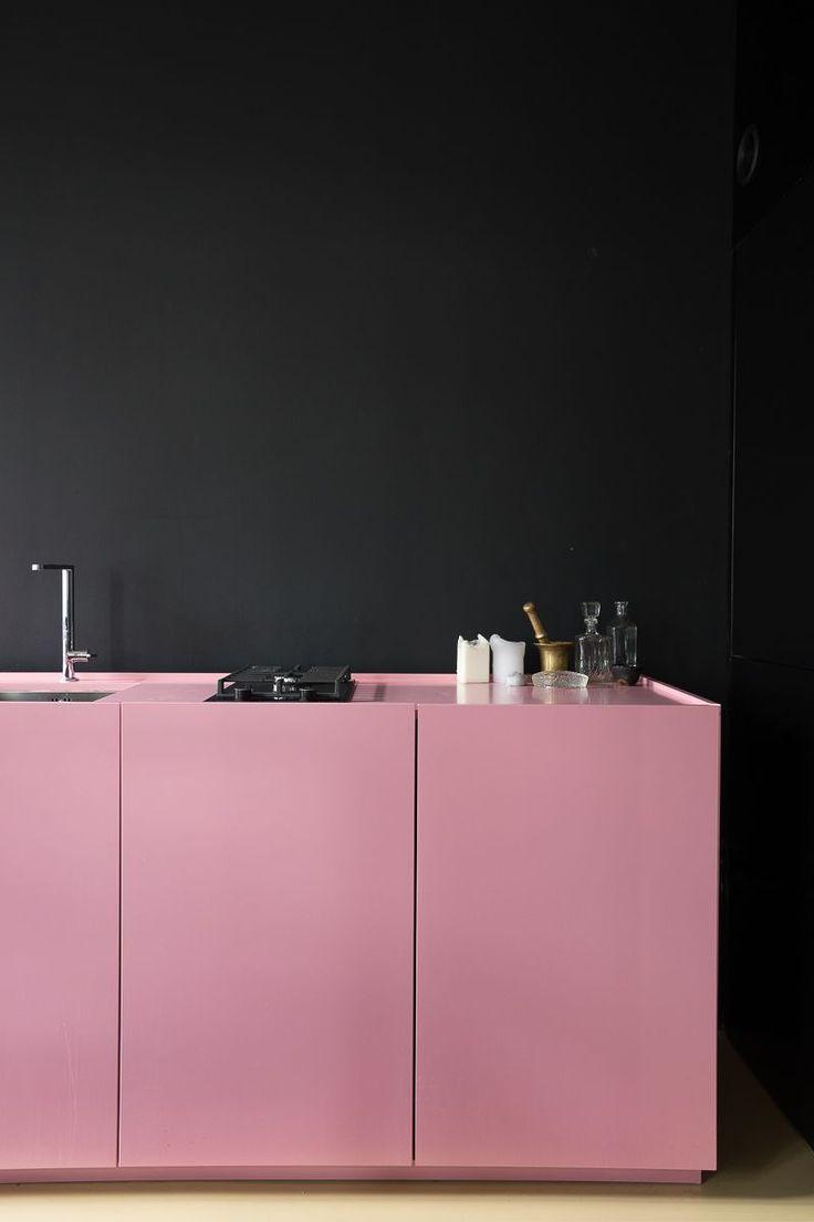 Küchenideen rot und weiß die  besten bilder zu keukens auf pinterest  bauernküchen