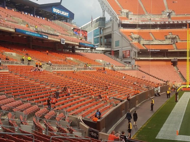 browns stadium (With images) Seating charts, Soldier