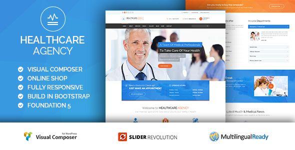 Healthcare Agency - Health & Medical WordPress
