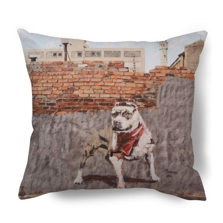 Graffiti Dog Cushion Cover – Ed Suter from Township Vibe Design - R249 (Save 0%)