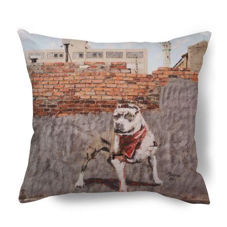 Graffiti Dog Cushion Cover – Ed Suter from Township Vibe Design - R249 (Save 0%)