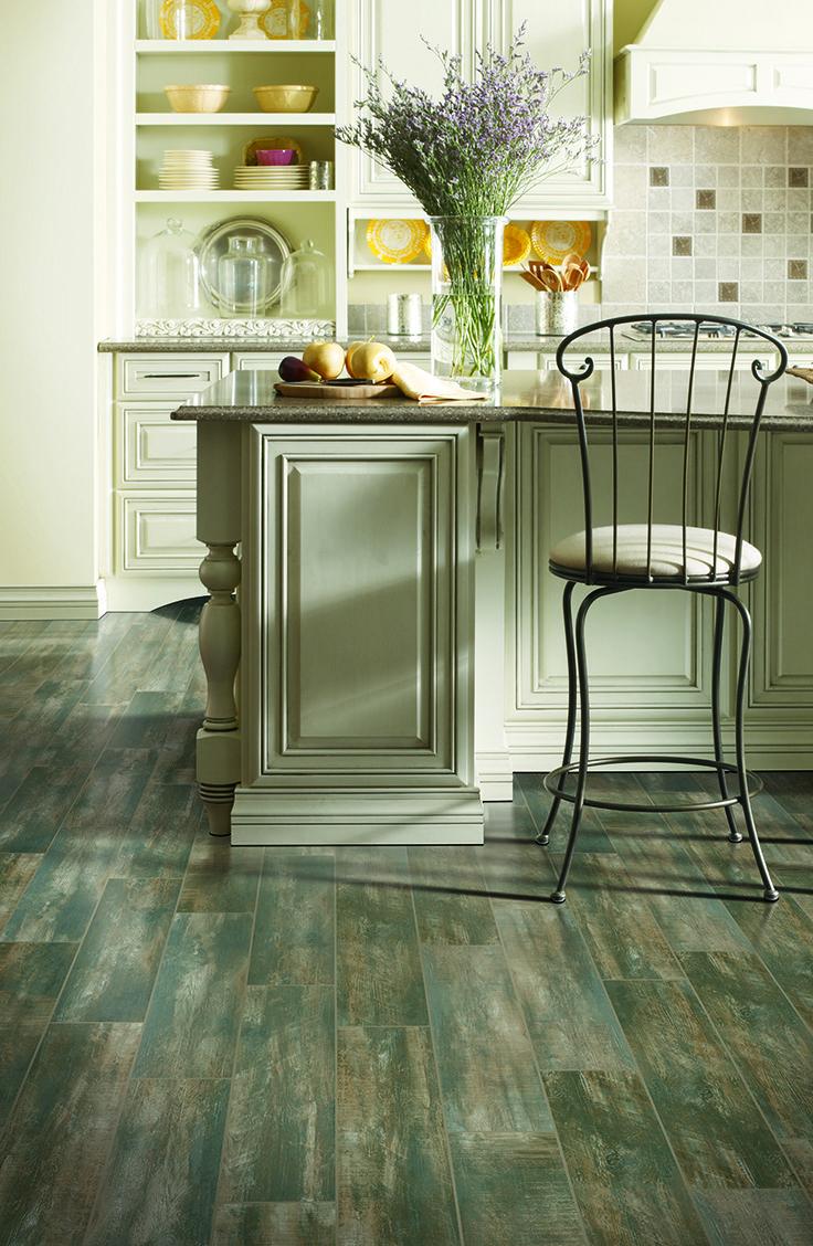 Mohawk Flooring's Torinetta Tile in Noir Oak
