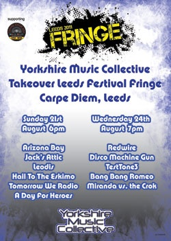 Yorkshire Music Collective Poster
