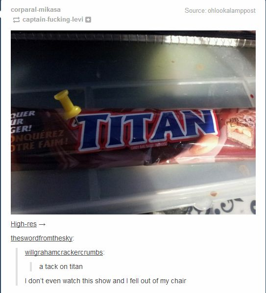 Titan funny attack on pictures