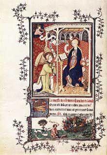 """Les """"Très Riches Heures du Duc de Berry'', Jean Pucelle, 1380-1420"""