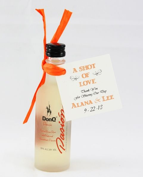 What better way to celebrate your wedding in Puerto Rico than with Puerto Rican rum.  With over 8 different 50ml bottles and flavors, chance...
