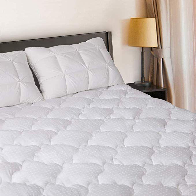 cooling mattress pad plush mattress