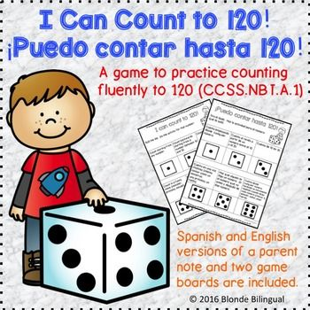 I can count to 120! ~ ¡Puedo contar hasta 120! (Spanish AN
