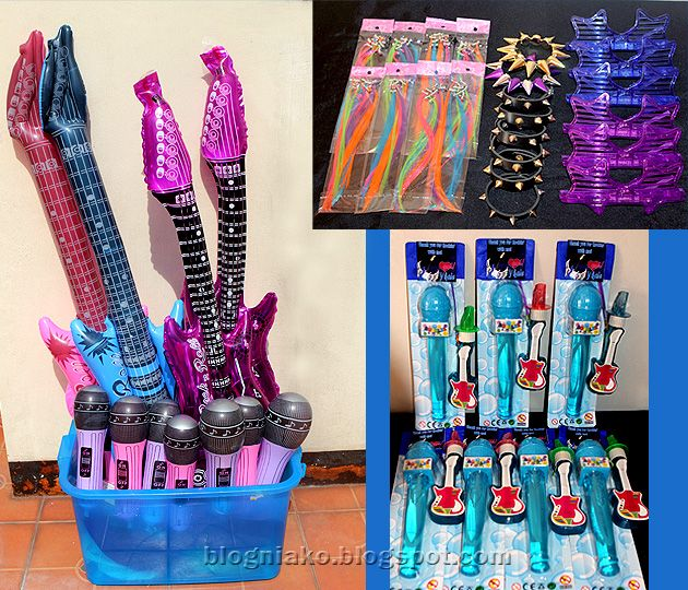"rock star party ideas | inflatable"" guitars microphones rocker s accessories and giveaways ... """"L pp"