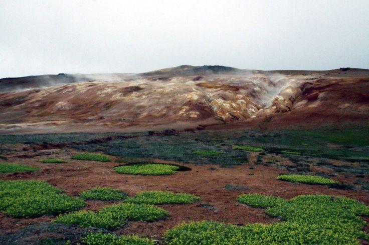 Islanda: zona di Leirhnjukur