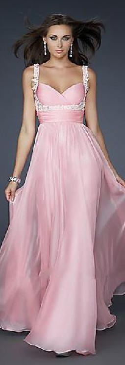 Fashion Long Chiffon A-Line Natural Sweetheart Prom Dresses  Link - http://ithaca-fashions.blogspot.com/2015/03/prom-and-graduation-fashions.html