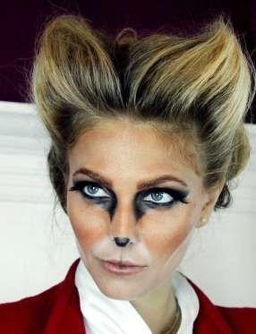 Un maquillage de faune - Capture d'écran Pinterest