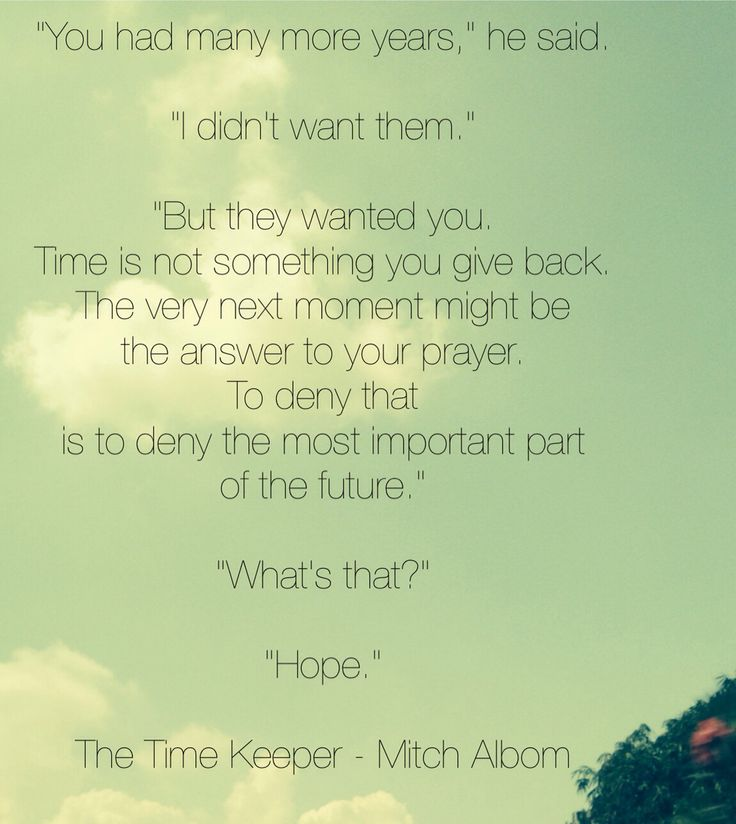 The Time Keeper - Mitch Albom :::: such a wonderful book !!