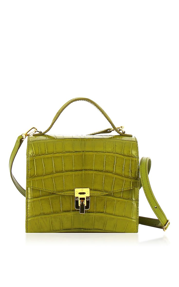 Georgia Crocodile Shoulder Bag by VBH