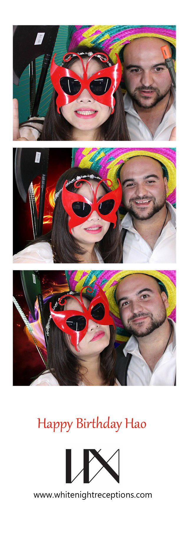White Night Receptions Photobooth