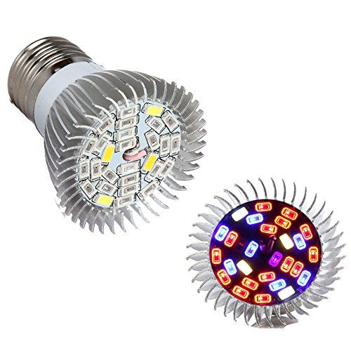 Special Offers - Morsen Grow Light 28W Full Bands LED Grow Light Bulbs E27 for Greenhouse Indoor Plants and Hydroponic Garden Full Spectrum Indoor Garden Growing Lamps with Wide Coverage For Sale - In stock & Free Shipping. You can save more money! Check It (October 14 2016 at 09:18PM) >> http://growlightusa.net/morsen-grow-light-28w-full-bands-led-grow-light-bulbs-e27-for-greenhouse-indoor-plants-and-hydroponic-garden-full-spectrum-indoor-garden-growing-lamps-with-wide-coverage-for-sale/