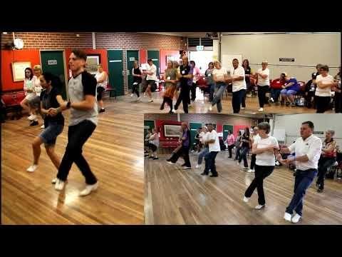 Clogging Partner Dance Workshop - Amanda Lim - YouTube