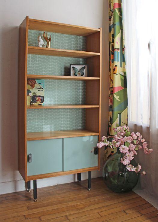 547 best relooking meuble vintage images on pinterest. Black Bedroom Furniture Sets. Home Design Ideas