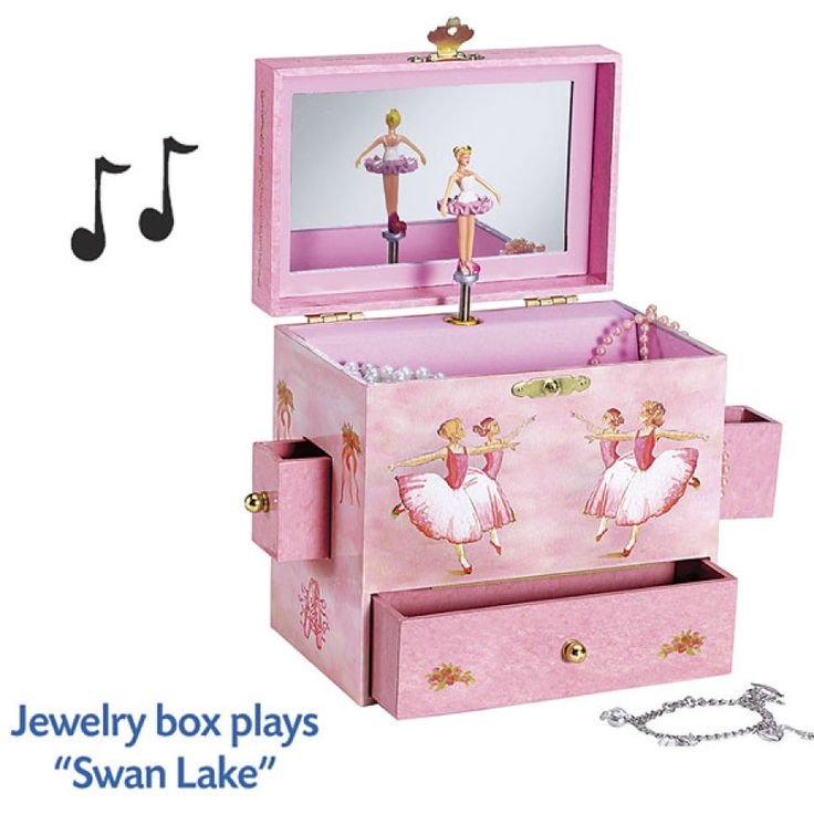Ballerina Jewelry Box - Educational Toys, Specialty Toys and Games - Creative, Award Winning for Science, Math and More   Young Explorers