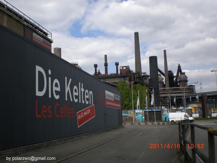 Von den Kelten besetzt - Germany. Keltenausstellung im Saarland, Völklinger Hütte 2011