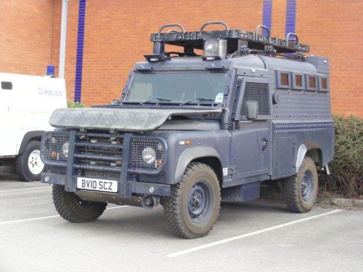GMP - Land Rover 110 - Armoured Car - BV10 SCZ
