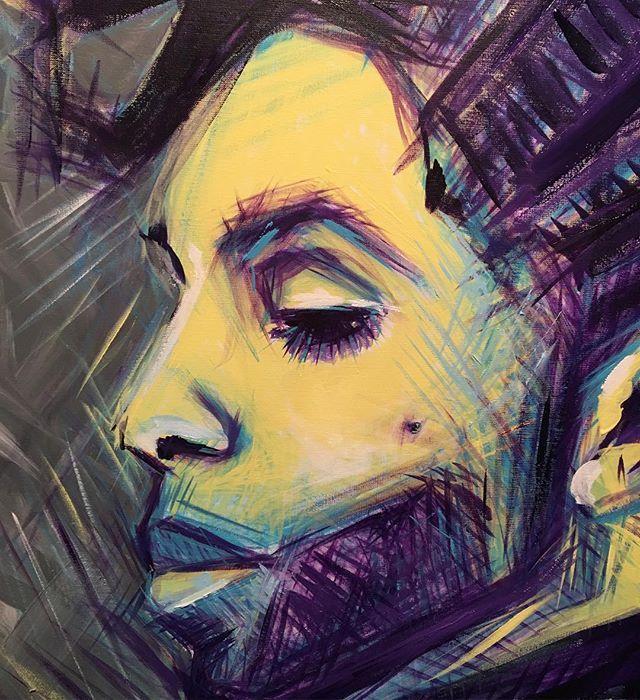 Prince #work #acrylicpainting #passion #clarise #ulakaminska #art #prince #painting