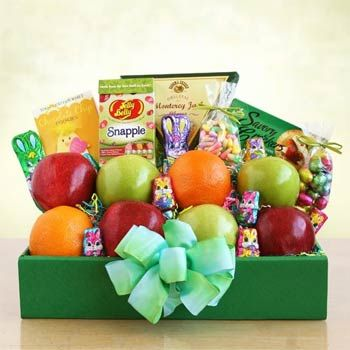 Easter Fruit Gift Box.  See more gifts at www.pro-gift-baskets.com!