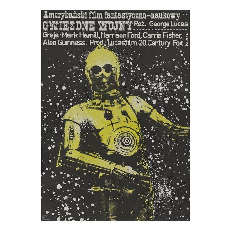 Star Wars / Gwiezdne Wojny Original Polish Film Poster.......