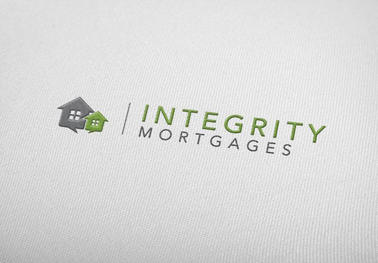 Integrity Mortgages Logo. Designed by Brandabble.co.uk. Please contact me if you would like a logo designed.