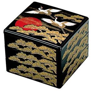Japanese Traditional Lunch Box Jubako 3 Stage From Japan