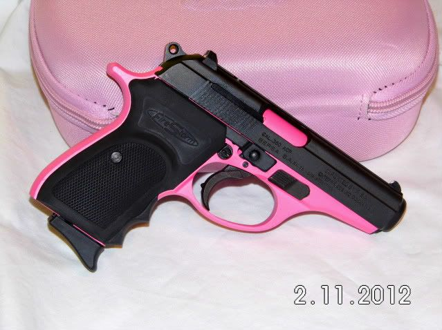 pink hand guns for women | Zombie Squad