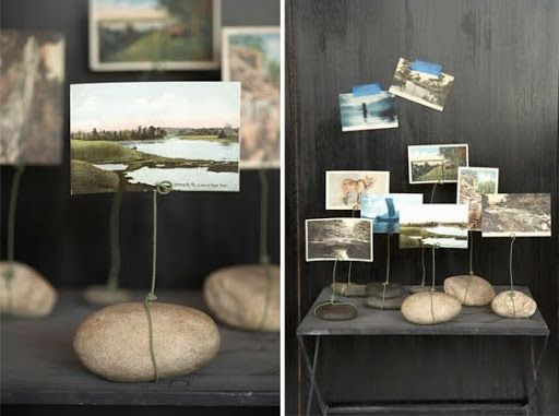 wire picture holders that rock