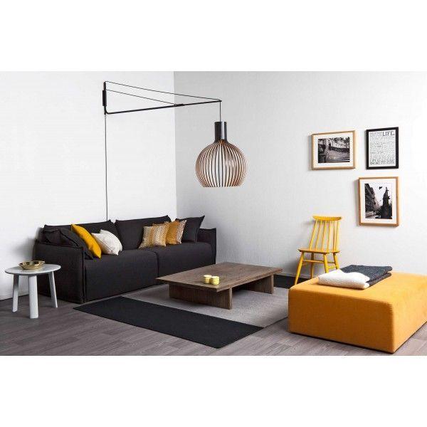 Secto Design Octo 4240 wandlamp LED met witte beugel