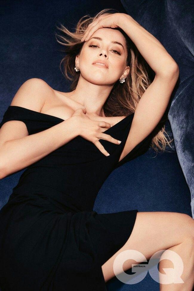 Amber Heard for GQ Australia by Nino Muñoz