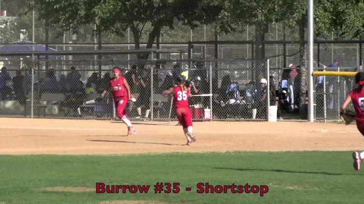 Emily Burrow Strike Force Shortstop Fly Ball Catch Vs