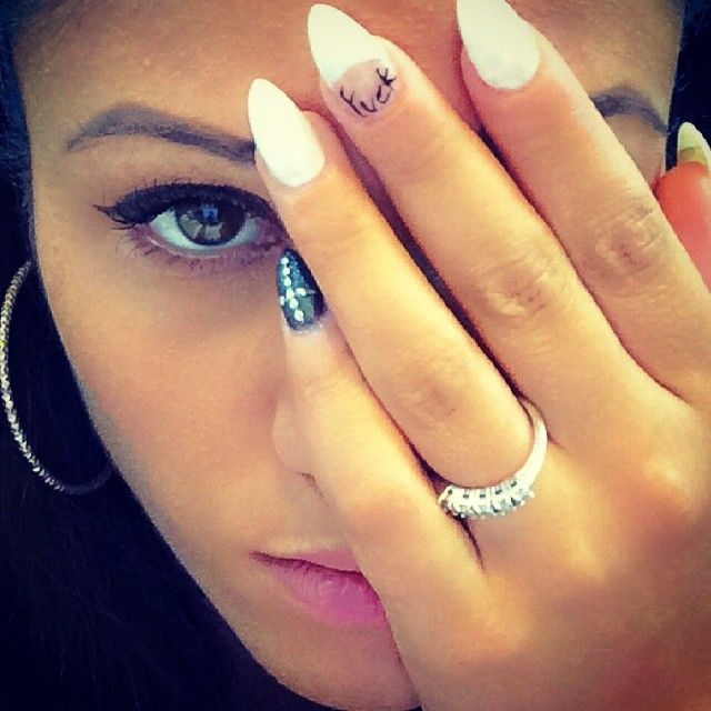 are a princess #nails #stilettonails #whitenails #whitestiletto #crossnails #fku #fucknails #nail #girl #girls #nailart #delicatissima #igersitalia #ciaoproprio #italia #roma #unaprincipessa #areaprincess