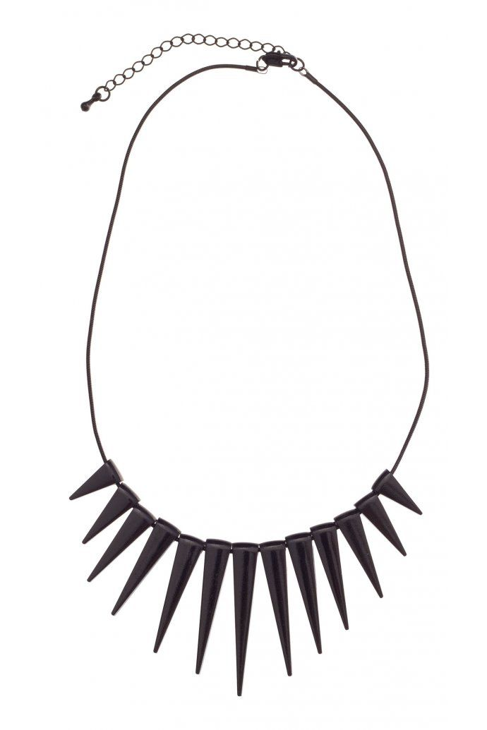 Spikes Necklace ($12.95) from colettehayman.com.au