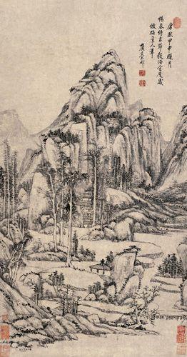 Wang Yuanqi (1642-1715): Yuanqi 1642 1715, Chinese Paintings, China Paintings, Wang Yuanqi, Asian Paintings, Landscape