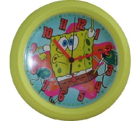 Bush Baby Sponge Bob Clock Nanny Cam