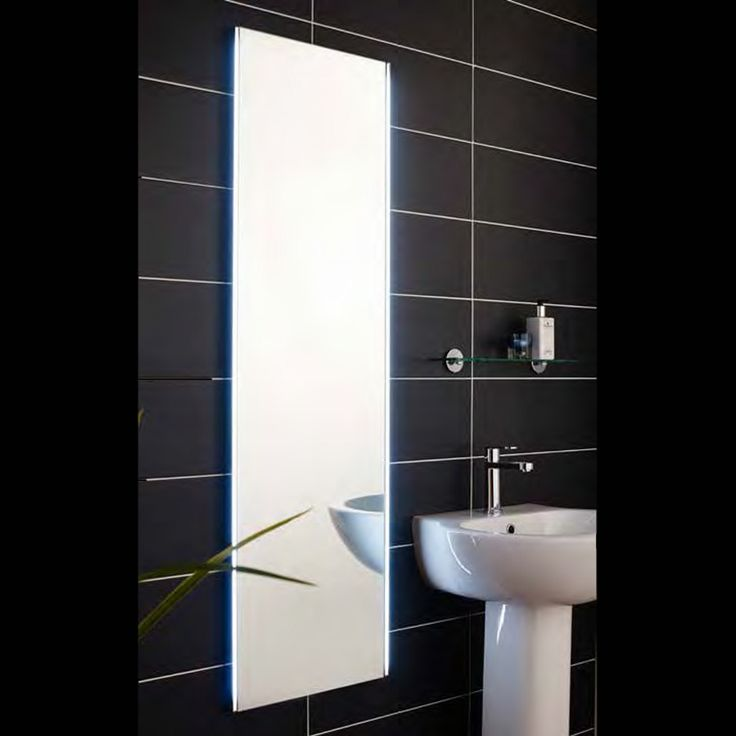 Hudson Reed Aerial 1450 X 420mm LED Mirror With Motion Sensor Led MirrorBathroom Mirrors