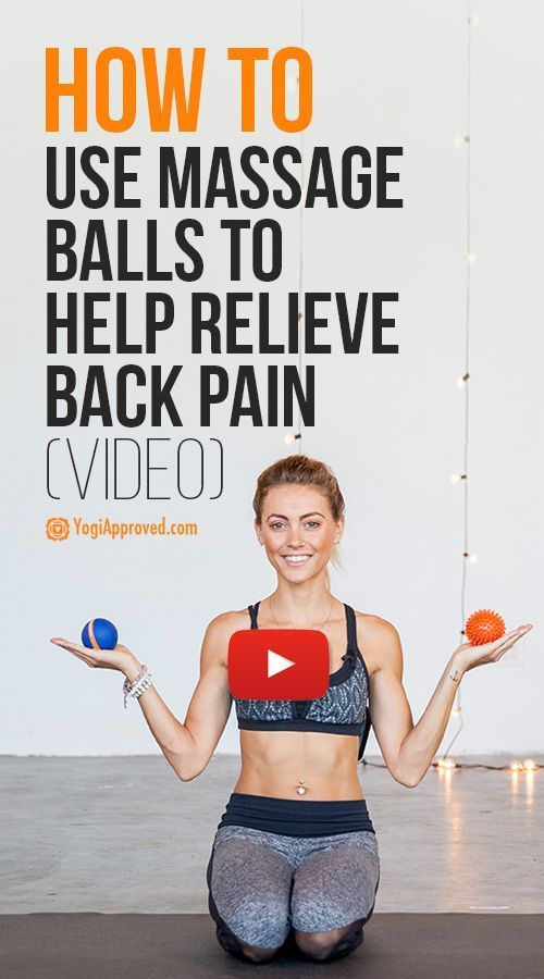 How to Use a Massage Ball to Relieve Back Pain (Video Tutorial) https://www.uksportsoutdoors.com/product/ranbow-vibration-exercise-machine-whole-body-vibration-plate-increases-muscle-tone-portable-use-at-home/ #Massage