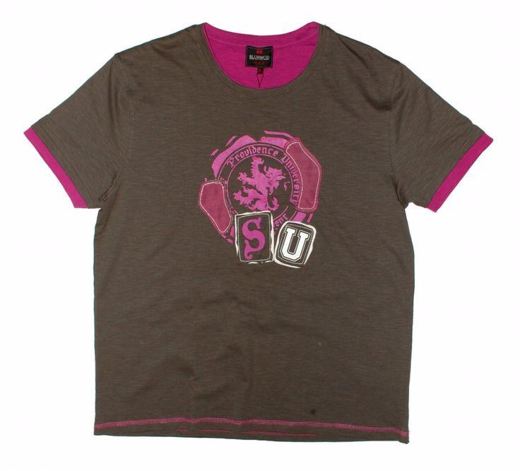 Серая мужская футболка с принтом